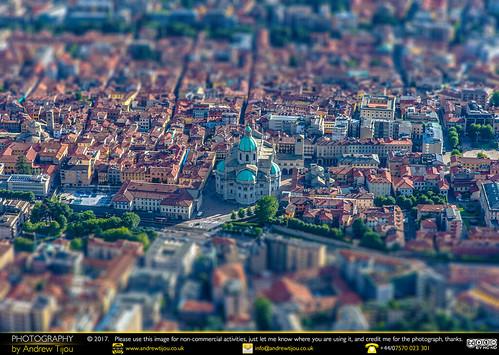 Como Cathedral Tilt Shift