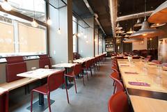 _DSC2028 (fdpdesign) Tags: pizzamaria pizzeria genova viacecchi foce italia italy design nikon d800 d200 furniture shopdesign industrial lampade arredo arredamento legno ferro abete tavoli sedie locali