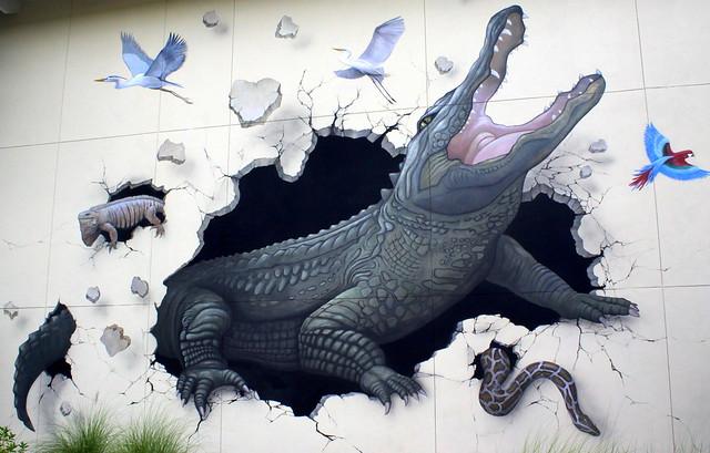Gatorland Mural