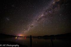 Stars on the water (Mick Fletoridis) Tags: longexposure nightphotography nightsky stars starscape winter jindabyne snowymountains milkyway sonyimages sonya7s samyanglens australia