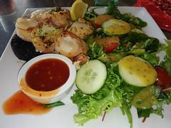 Ocean Restaurant Broad Haven (Bristol Viewfinder) Tags: scallops sweetchillidip cremebrulee oceanrestaurant broadhaven wales pembrokeshire seafood