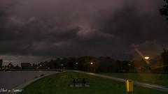 Storm 10 (M van Oosterhout) Tags: storm thunderstorm thunder lightning wind cloud clouds cloudporn sunset alphen aan den rijn dutch holland netherlands nederland groene hart noodweer weather weer rain regen