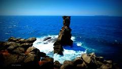 Nau dos corvos - Peniche (verridário) Tags: mar oceano água water sea ocean atlantico atlantique atlantic rock rochas sony litoral blue azul peniche