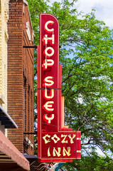 Chop Suey (Eridony (Instagram: eridony_prime)) Tags: janesville rockcounty wisconsin downtown sign neonsign