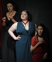 Dracula (Peter Jennings 24 Million+ views) Tags: claire ahuriri bram stokers vampire myth dracula bloodthirsty adult pantomime comedy theatreworks birkenhead the home mairangi players auckland new zealand peter jennings nz
