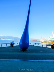 Vancouver (British Columbia) (TO416 Original) Tags: 2017 britishcolumbia canada studio1937 to416 travel vancouver thedrop sculpture waterfront conventioncentre canadaplace tofouronesix tourism touristattraction