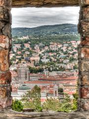 Trieste from Castello di San Giusto (CdL Creative) Tags: 70d canon castellodisangiusto cdlcreative eos hdr italia italy saintjustus trieste castle geo:lat=456470 geo:lon=137735 geotagged friuliveneziagiulia it