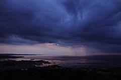 That place (RebeCloud) Tags: conconello trieste fvg friuliveneziagiulia sky storm clouds blue landscape sunset