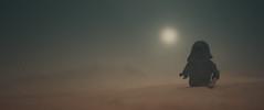 a walk near namenthe's crater (jooka5000) Tags: starwars lego photo cinematic photography unkars thug minifigs namenthescrater jakku walking alone scenery diorama legostarwars incamera atmosphere