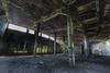 Abandoned Roundhouse 7 (-dangler) Tags: dandangler newyork wny westernnewyork ny abandoned roundhouse railroad manchester train rail old interior inside graffiti tagged dirty trespass