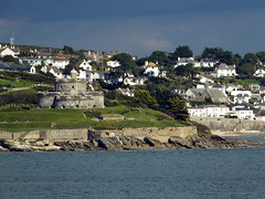 St Mawes Castle (Cornishcarolin. Thank you Everyone!! xxx) Tags: cornwall falmouth water stmawes stmawescastle houses buildings sky