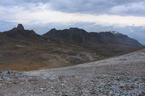 vue sur le Vallon de Réchy