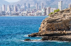 Benidorm. (CWhatPhotos) Tags: cwhatphotos benidorm spain blue seas olympus four thirds 43 omd em10 ii digital camera photographs photograph pics pictures pic picture image images foto fotos photography artistic that have which with contain artistc beach seaside resort costa blanca spanish fun hol holiday september 2017