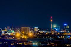 Dortmund Night Skyline (DanGrothe) Tags: dortmund florianturm nacht night nightshot longexposure langzeitbelichtung deusenberg skyline