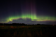 """'You dancing?', 'You asking?', 'I'm asking!', 'I'm dancing!""' (1 of 5) (Explored 090917) (Steviethewaspwhisperer) Tags: northernlights auroraborealis aurora"