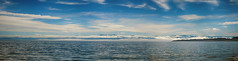 Mount Baker in the Distance (flashfix) Tags: september122017 2017inphotos nikond7100 nikon victoria bc canada britishcolumbia ocean pacificocean water landscape waterscape panorama mountbaker nature mothernature clouds sky 55mm300mm