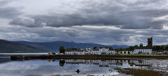 Inveraray (UndaJ) Tags: inveraray heron reflections westcoast kintyre argyll explored