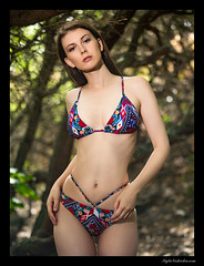 Muirina (madmarv00) Tags: d600 kaiwishoreline makapuu muirina nikon girl hawaii kylenishiokacom model oahu outdoor woman bikini trees woods forest