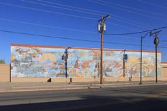 Santa Fe - Santa Fe Railway Mural (Michael.Kemper) Tags: voyage travel travelling reise canon eos 6d canoneos6d canonef2470f4lisusm ef 2470 f4l is usa us united states america vereinigte staaten von amerika american southwest amerikanischer südwesten newmexico nm santa fe santafe railway eisenbahn mural wandbild wandgemälde