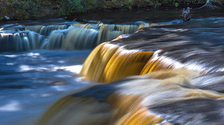 Tahquamenon Falls in the afternoon.....