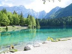Lake Fusine, italy