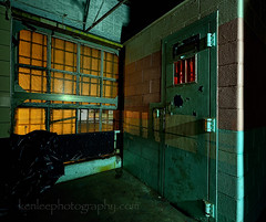 Code Red In Psych Ward Cell #1 (Ken Lee Photography) Tags: night light painting moundsville penitentiary abandoned creepy urbex photography longexposure westvirginia prison haunted