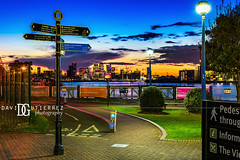 Follow The Yellow Brick Road - New Charlton, London, UK (davidgutierrez.co.uk) Tags: london photography davidgutierrezphotography city art architecture nikond810 nikon urban travel color night blue uk attraction thames thamesriver eastlondon silvertown industrialiseddistrict bluehour twilight dusk lights light reflection longexposure thamesbarrier floodbarrier newcharlton contemporary modern d810 street arts summer skyline buildings nikon2485mmf3545gedvrafsnikkor nikon2485mm iconic landmark people property 伦敦 londyn ロンドン 런던 лондон londres londra capital structure building river riverthames lowtide colors colourful colours colour streets photographer england unitedkingdom europe beautiful cityscape davidgutierrez britain greatbritain londonphotographer canarywharf road yellow