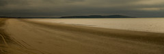 Why Have All The People Gone? (Brian Travelling) Tags: beach alone empty sand golden water pentaxkr pentax