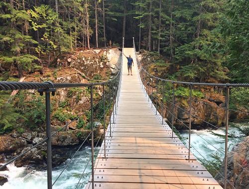 Cheakamus River Suspension Bridge