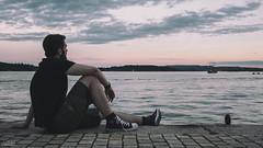 DSC_2305 (edited 1) (tagged) (AJ Charlton Photography) Tags: norway oslo june 2017 viking nordic sunset aj charlton ajc photography nikon landscape d750 sky water ocean docks