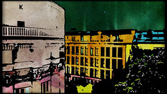 Wielopole, Kraków [i] (kazimierz.pietruszewski) Tags: digipaint digitalpainting digitalart kraków cracow poland polska canvas border street pictorial pictorialism