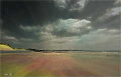 A Hard Rain's Gonna Fall (Jan 130) Tags: aberdyfiwales jan130 song topaz picmonkey photopainting ngc npc