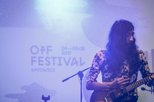 2017 - OFF Festival Katowice 2017 (POL) (127) - Kikagaku Moyo