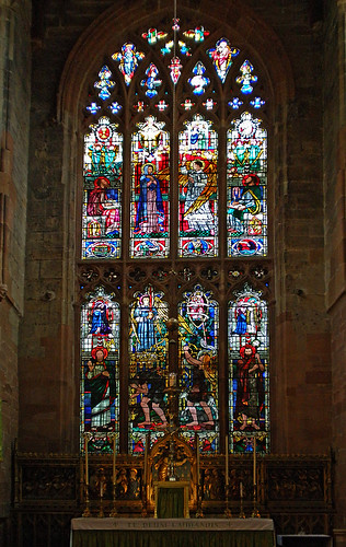St John the Baptist, Coventry.East Window