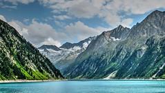 Alpes del Zillertal (etoma/emiliogmiguez) Tags: alpes zillertal austria österreich schlegeisspeicher montañas nieve embalse