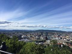 View over Oslo (John & Bente) Tags: norway clouds utsikten ekeberg oslo view sky