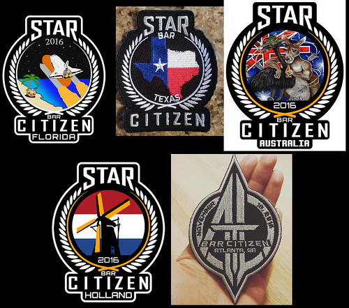 Bar Citizen Patches