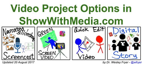 Video Project Options in ShowWithMedia.c by Wesley Fryer, on Flickr
