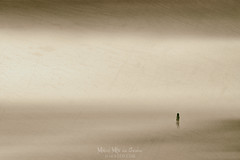 We are so small (Mimadeo) Tags: person desert abstract art silhouette woman girl outdoor young nature landscape filter blur blurred abstraction motion heat hot solitude sand dry wilderness sky adventure loneliness arid view alone lonely wild one sahara thinking looking contemplation thoughtful dreaming background grungy texture infinite small