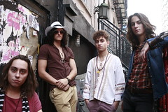 Greta Van Fleet in NYC (runatail) Tags: runatail portrait people musician rockgroup newyorkcity manhattan lowereastside canon5d hat sunglasses fashion urban citylife gretavanfleet