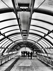 Tunnel, Rome, Italy. (Massimo Virgilio - Metapolitica) Tags: monochrome blackandwhite italy rome city urban architecture tunnel