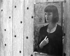 L. (denzzz) Tags: portrait blackwhite blackandwhite skancheli analogphotography filmphotography wista45dx fujinona 180mm 4x5 largeformat kodak tmax400