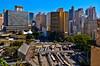 Sao Paulo, Brazil - Downtown Area Skyline (Carlos Alkmin) Tags: architecture arquitetura art brasil brazil camaradosvereadores cidade cityscape downtownarea edificiojoelma landmark landscape paisagem palacioanchieta pracadabandeira sp sampa sanpablo saopaolo saopaulo sightseeing southamerica terminalbandeira urbana buildings city metropolis urban sãopaulo