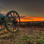 Gettysburg: M1857 12-Pounder Napoleon sunrise thumbnail