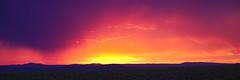 Sunset in Taos (stephenpapierski) Tags: sunset mountains landscape yellow orange blue purple taos taoscounty newmexico