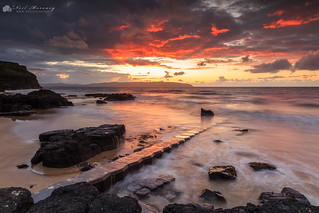 Castlerock Sunset.