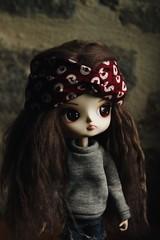 Clémentine - Dal Chibi Risa custom (celestephie) Tags: dal dalchibirisa doll dolls groove wig mohair natrume