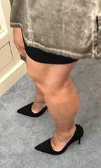 MyLeggyLady (MyLeggyLady) Tags: teasing thighs hotwife cfm secretary milf stiletto miniskirt sexy legs heels