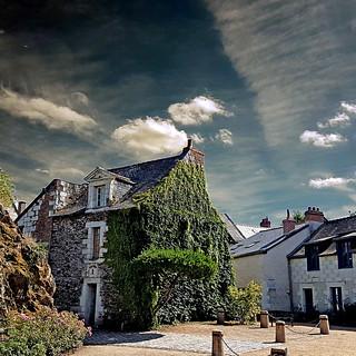 Béhuard, Maine-et-Loire, France