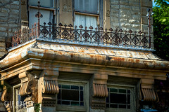 El Castile, 2017 (early days) Tags: elcastile texas decatur victorianarchitecture historic danielwaggoner cattle ranch headquarters details closeup ef70200mmf28lisusmtelephotozoomlens ironfence history early waggonerranch mansion craftsmanship authentic original impressive style canon7d zoom